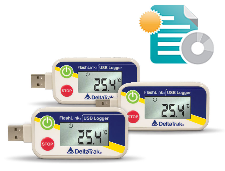 FlashLink Reusable USB Data Logger Starter Kit
