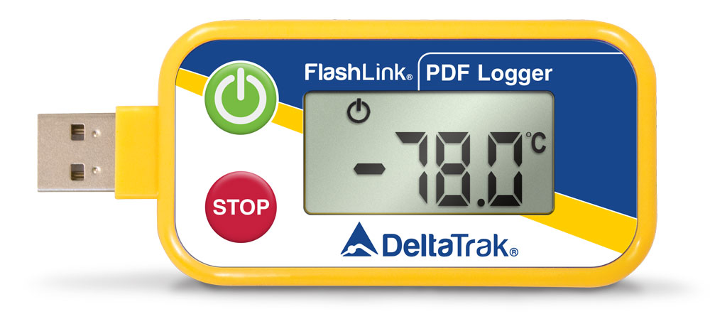 FlashLink USB -80°C In-Transit Data Loggers