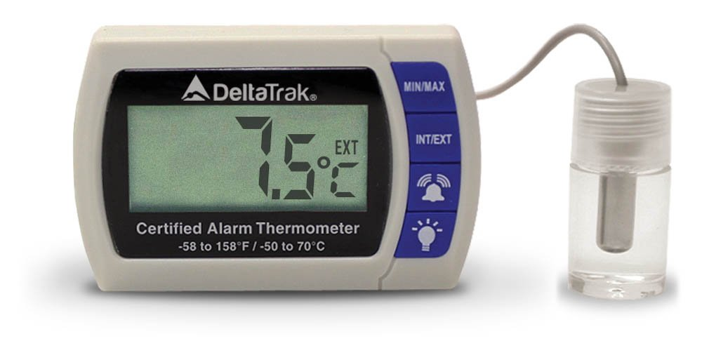 Certified Alarm Thermometer