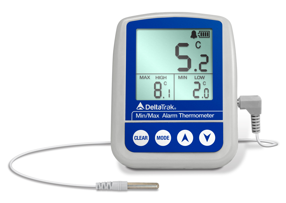 FlashCheck Min-Max Alarm Digital Thermometer