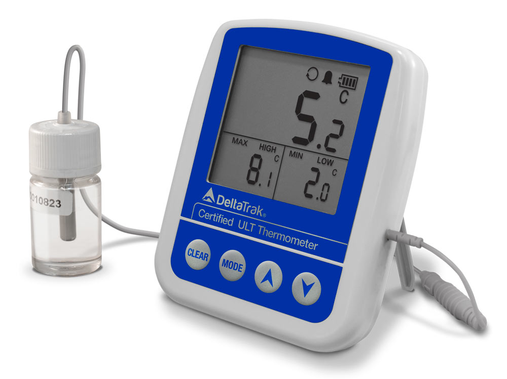 FlashCheck Certified Min-Max Alarm Thermometer
