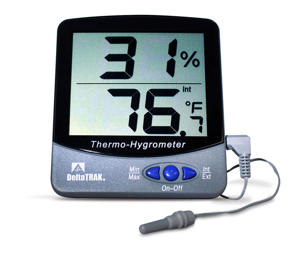 Jumbo Display Thermo-Hygrometer