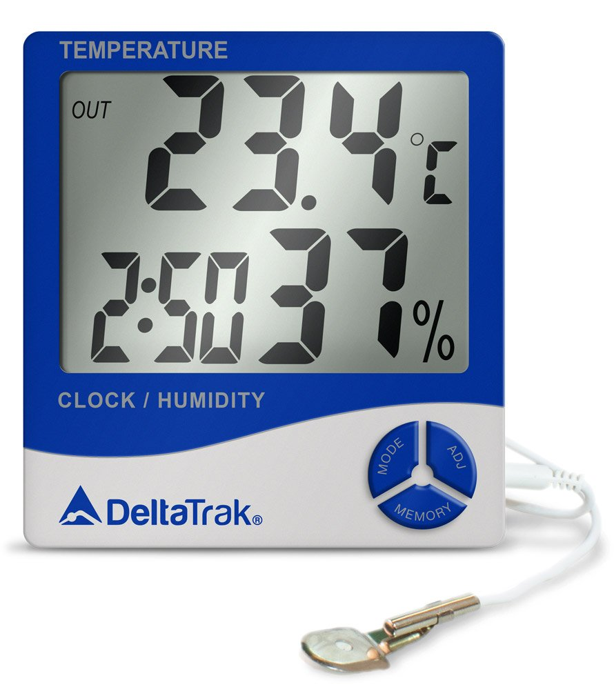 Jumbo Display Wall Mount Thermo-Hygrometer