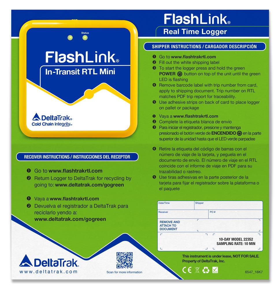 FlashLink In-Transit Real-Time Mini Logger