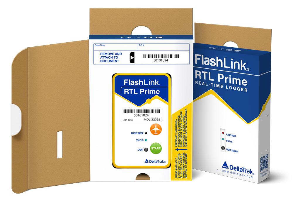 FlashLink RTL Prime In-Transit Logger
