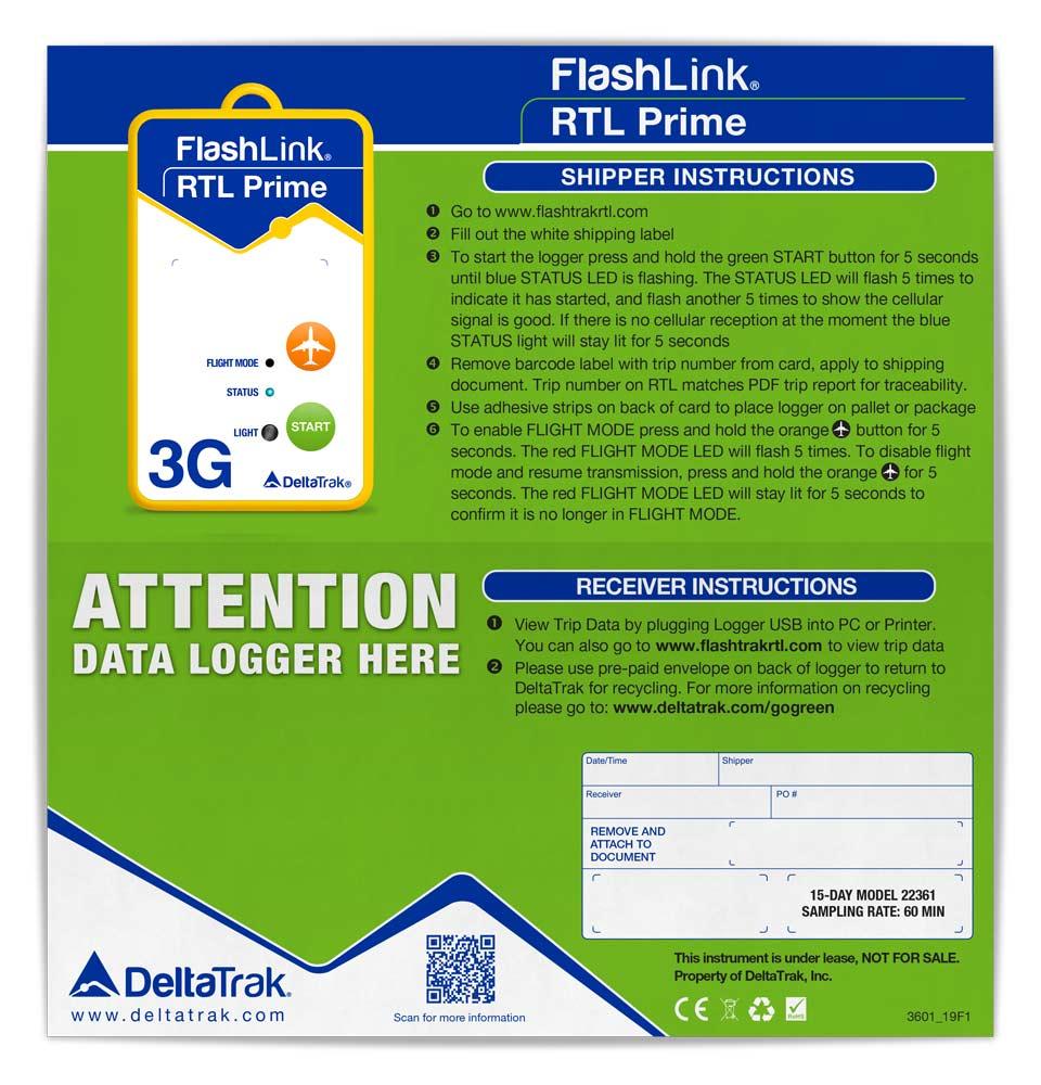 FlashLink RTL Prime 3G In-Transit Logger