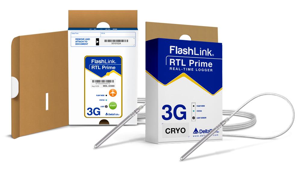 RTL Prime 3G Cryo In-Transit Logger