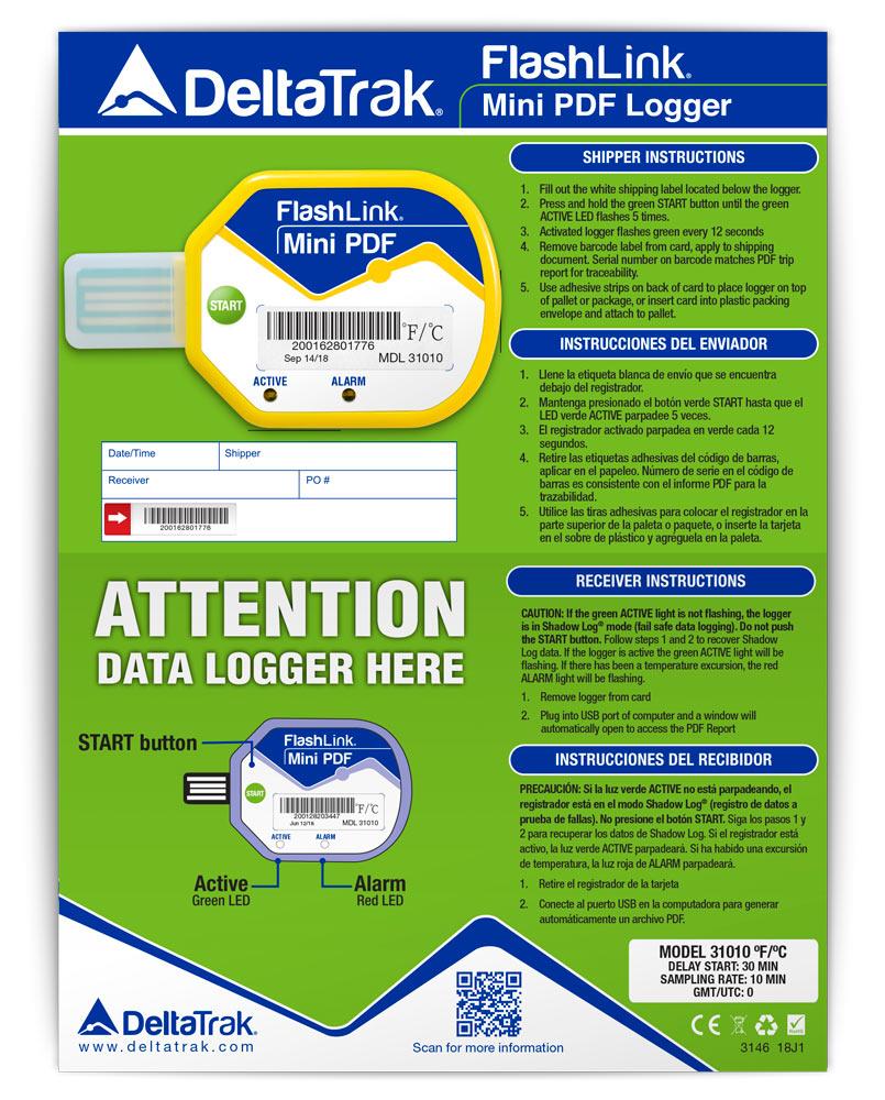 FlashLink Mini PDF Logger 31010