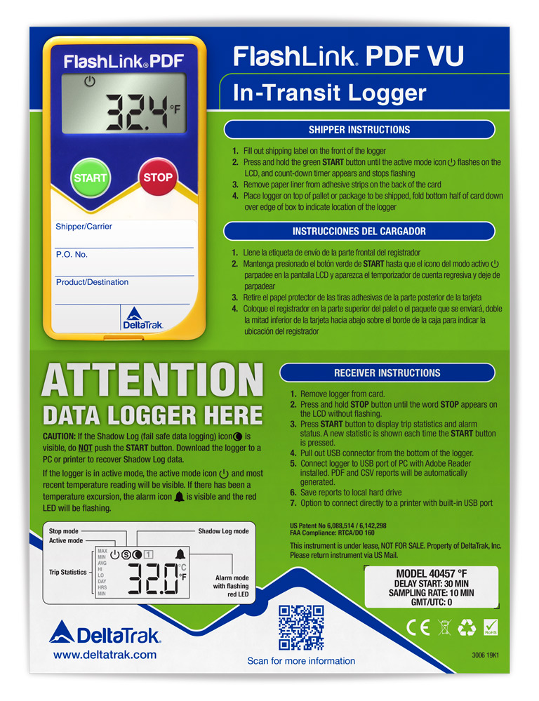 FlashLink PDF VU In-Transit Logger
