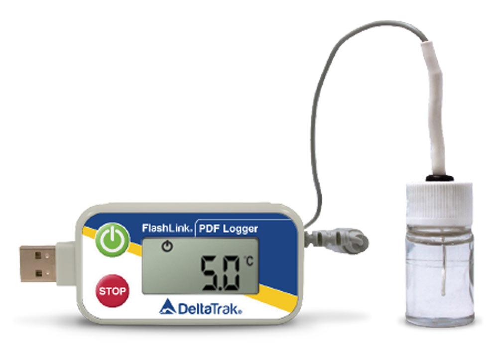 FlashLink Certified Vaccine USB PDF Data Logger, Model 40503