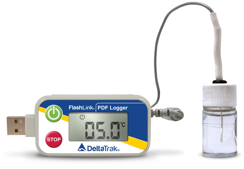 FlashLink Certified Vaccine USB PDF Data Logger, Model 40527