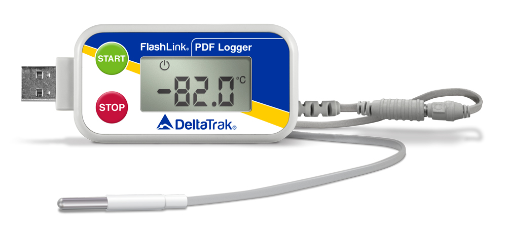 FlashLink Certified Vaccine ULT PDF Data Logger