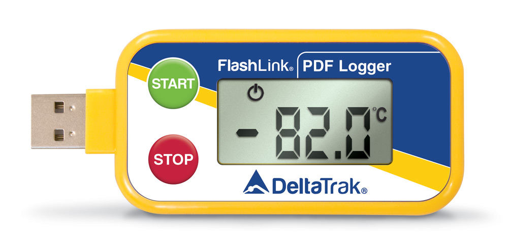 FlashLink Dry Ice USB PDF In-Transit Logger