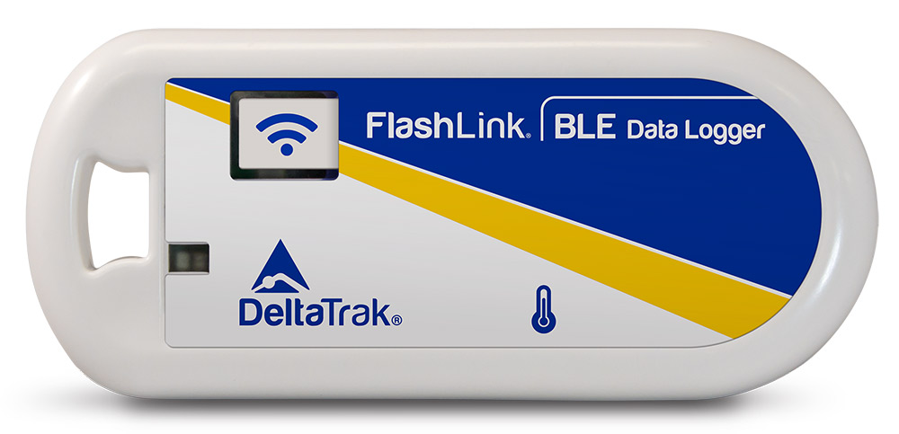 FlashLink  BLE (Bluetooth Low Energy) Reusable Temperature Data Logger, Model 40900