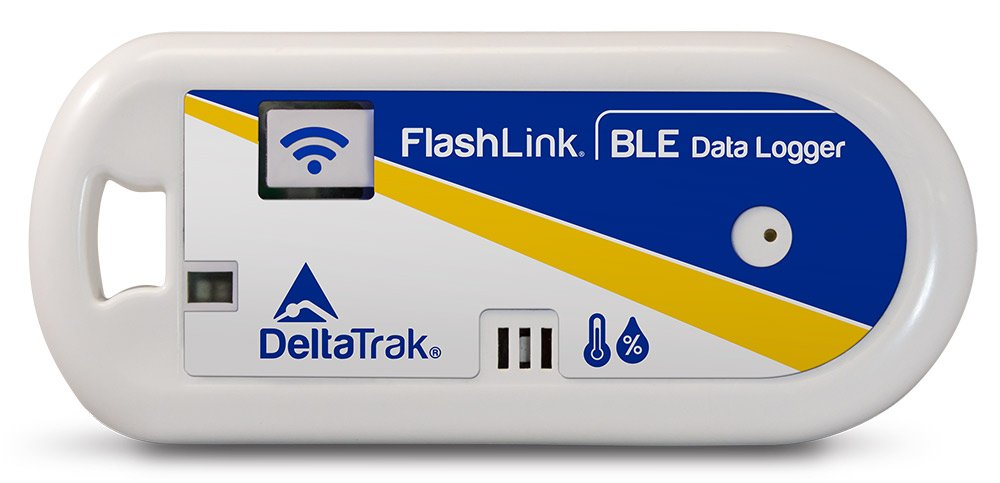 FlashLinkBLE (Bluetooth Low Energy) Reusable Temperature and Humidity Data Logger, Model 40901