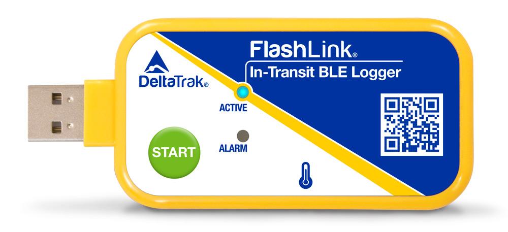 FlashLink In-Transit BLE Logger, Model 40909