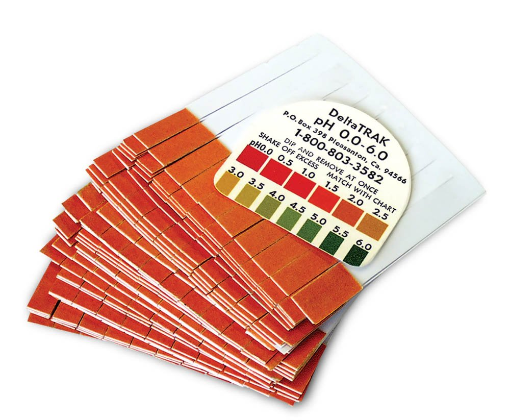 pH Plastic Indicator Strips