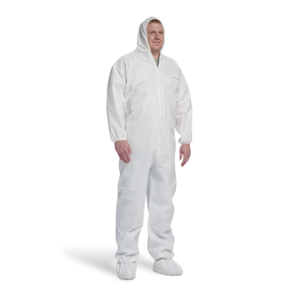 3709 Posi-Wear UB Coverall with Hood, Boots, and Elastic Wrists