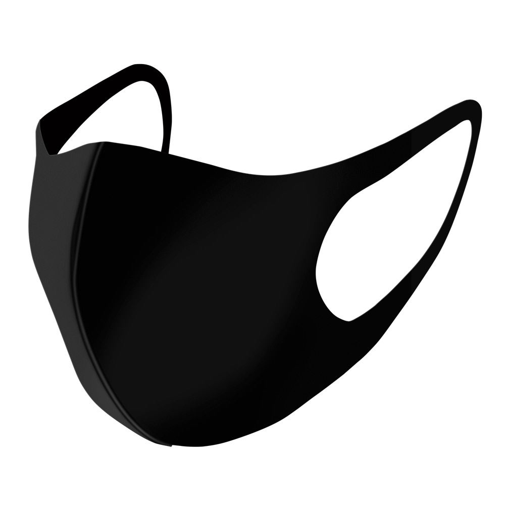 DeltaTrakessentials Reusable Black Cloth Face Mask