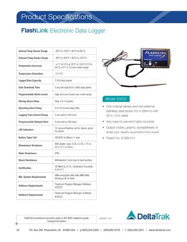 FlashLink Electronic Data Logger