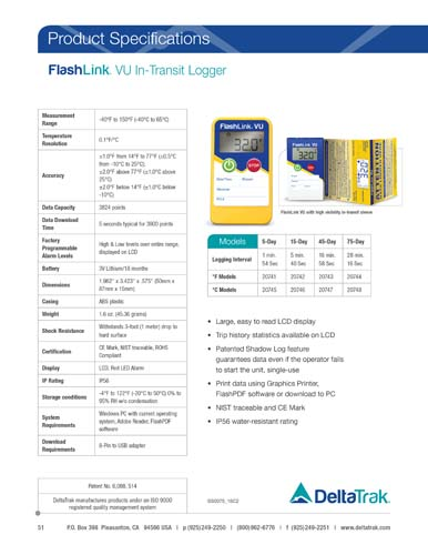 FlashLink VU In-Transit Logger