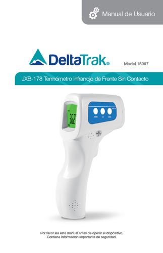 Jxb 178 Non Contact Forehead Infrared Thermometer Model 15007 Deltatrak 2 años de garantía, entrega en 24 horas desde españa. jxb 178 non contact forehead infrared