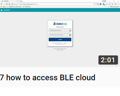 7 how to access BLE cloud