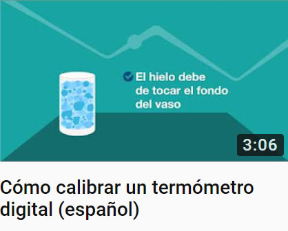Cómo calibrar un termómetro digital (español)