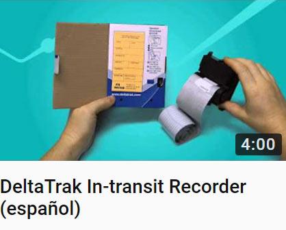 DeltaTrak In-transit Recorder (español)