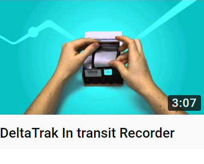 DeltaTrak In transit Recorder