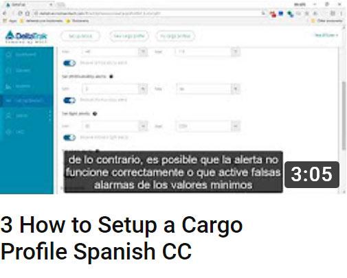 3 how to setup a cargo profile