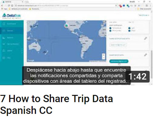 7 how to share trip data